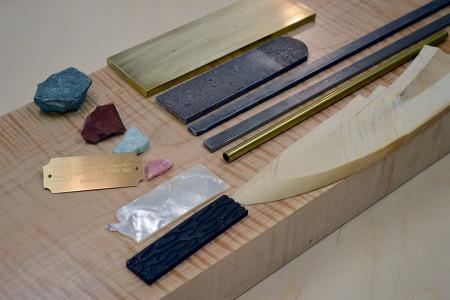 A small sampling of various materials.