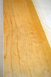 Plain/Flat sawn Maple
