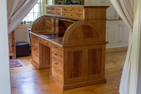 Victorian cylinder desk.