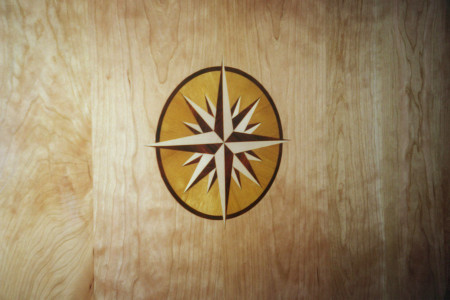 Inlays create an interesting and decorative option.