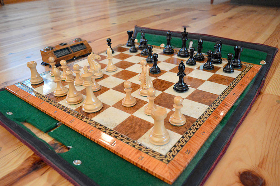 """c. 2014 - 35 yrs. later, I am amazed that I still find such depth and satisfaction from both woodworking and chess. Hopefully my """"moves"""" have improved in complexity and elegance."""