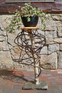 "30"" Interwoven Plant Stand - $295"